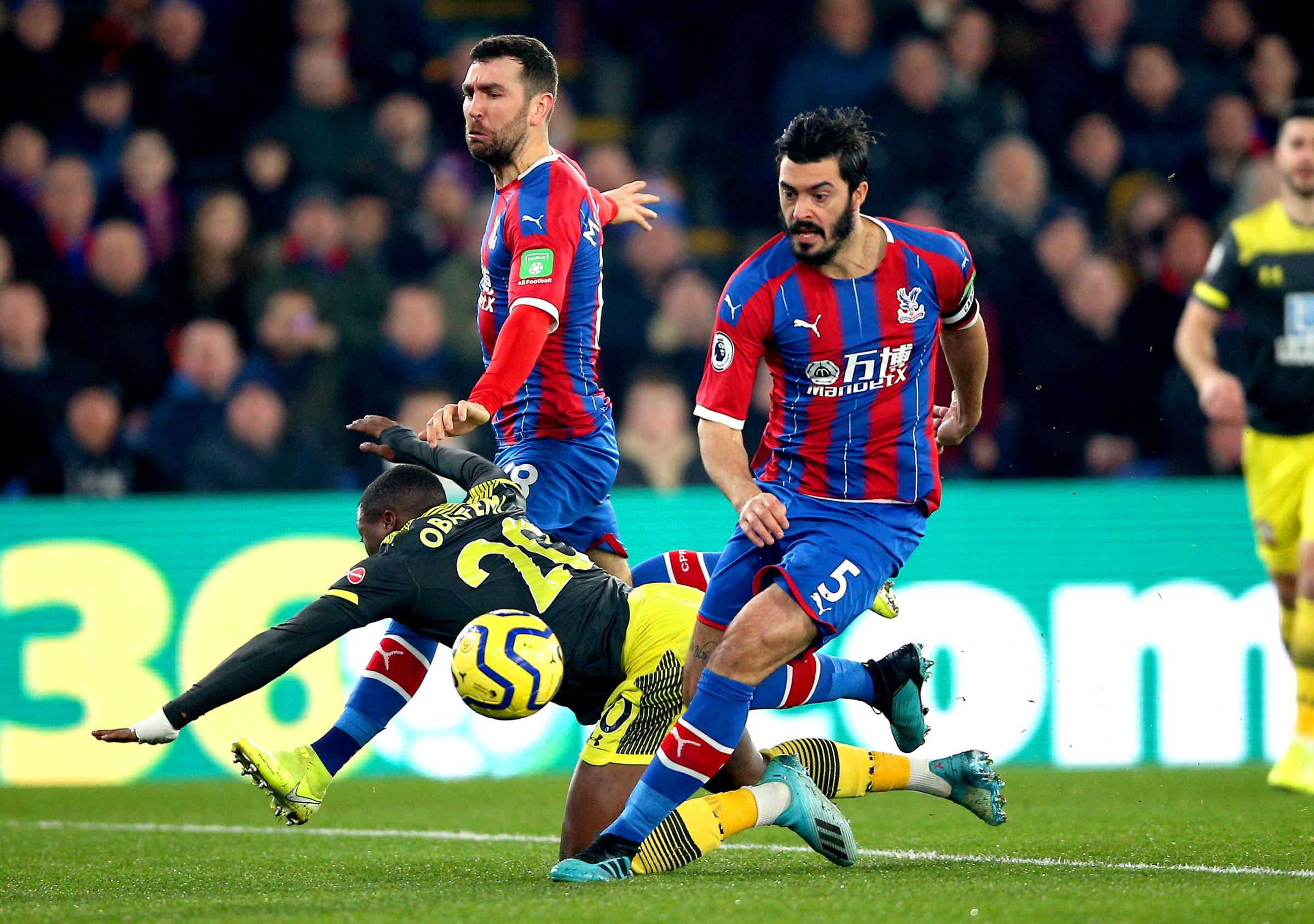 PLAYER RATINGS: Crystal Palace 0 Southampton 2 - who let frustration get the better of them?