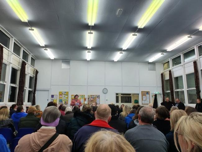 New Addington Residents Association meets for the first time at Fieldway Community Centre. Credit: CCC.