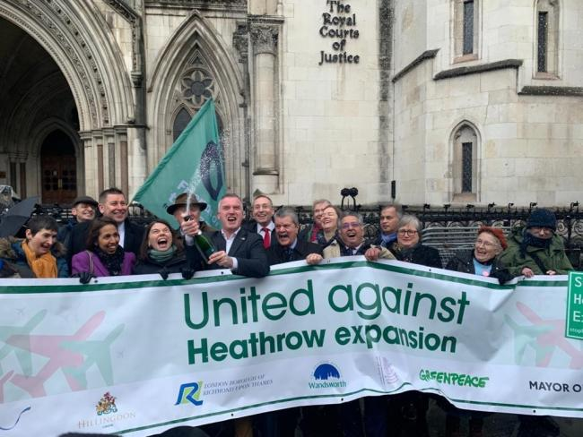 "Heathrow expansion plan in ""tatters"" after court rules decision as ""legally fatal"""
