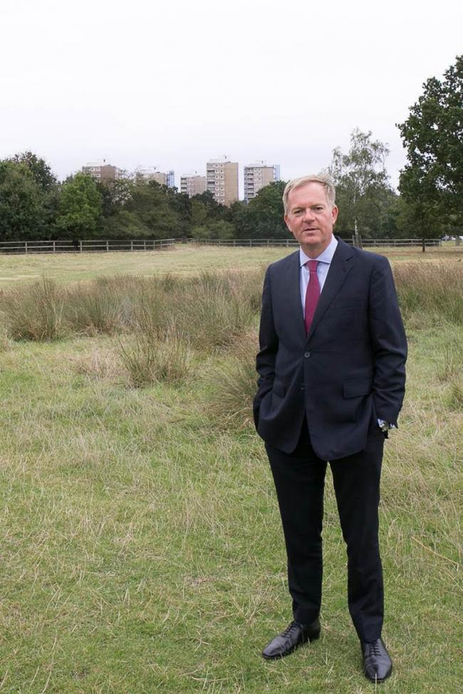 Paul Martin is stepping down as Chief Executive at Richmond and Wandsworth councils. Credit - Richmond Council