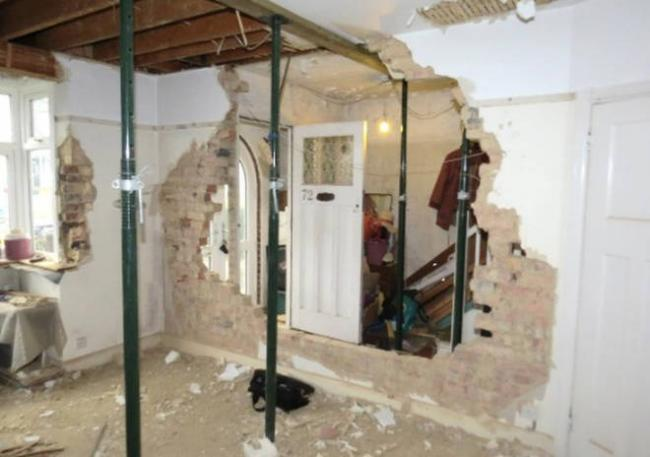 Inside the Worcester Park home. Picture: Surrey County Council