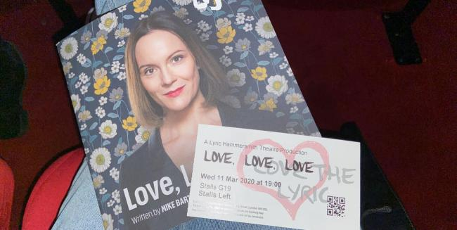 Love, Love, Love at the Lyric Hammersmith Theatre - Maleehah Laher Tolworth Girl's School