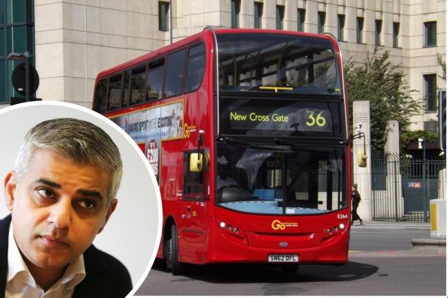 Sadiq Khan said people should not use public transports for unnecessary journeys