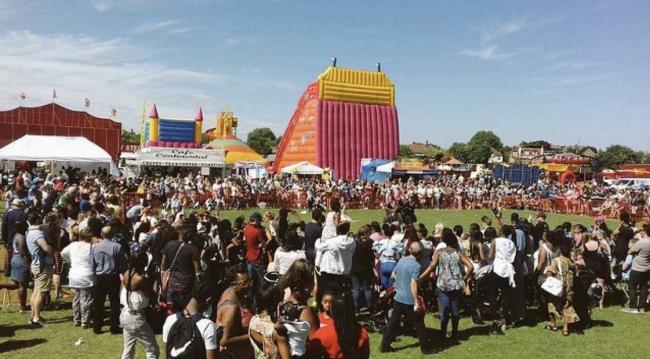 Mitcham Carnival in 2017