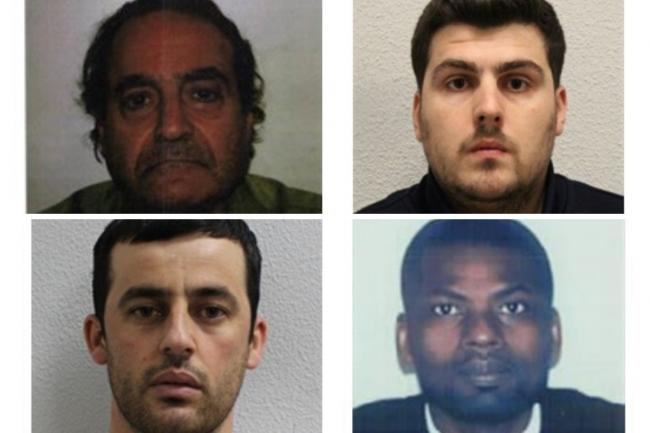The Met Police's most wanted criminals in South London.