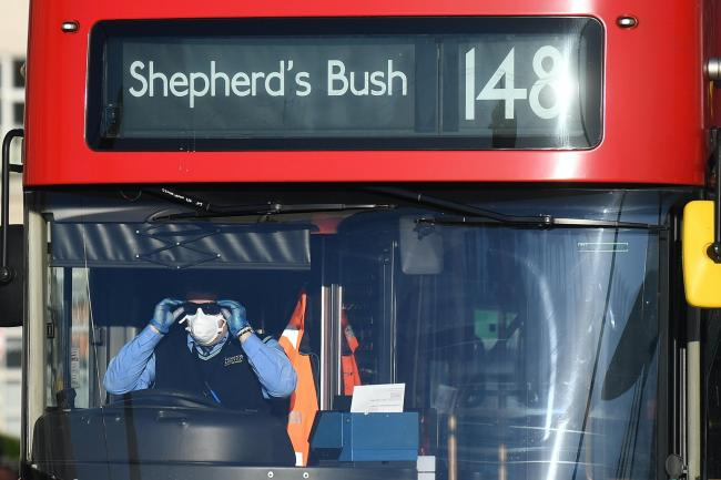 You can be fined £100 for not wearing a mask on public transport