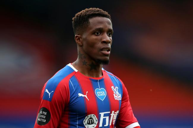 Crystal Palace's Wilfried Zaha was back to his best against Chelsea in midweek