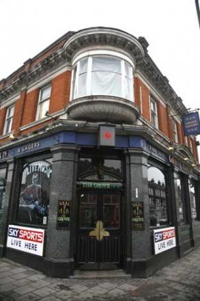 The Grove in south Wimbledon closed on Tuesday