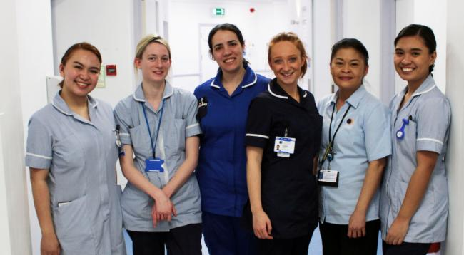 Nurses at RHN will be able to provide additional therapy following the installation of the sensory bath