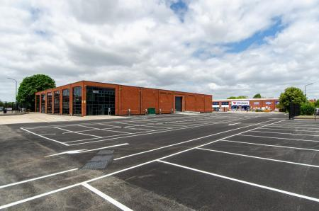 Ocado's new space in Merton Industrial Park
