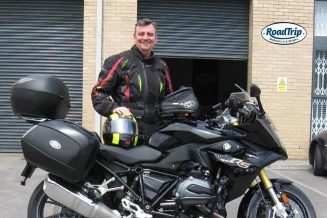 A fundraiser to help Blood Bikers has been launched in memory of Simon Palmer