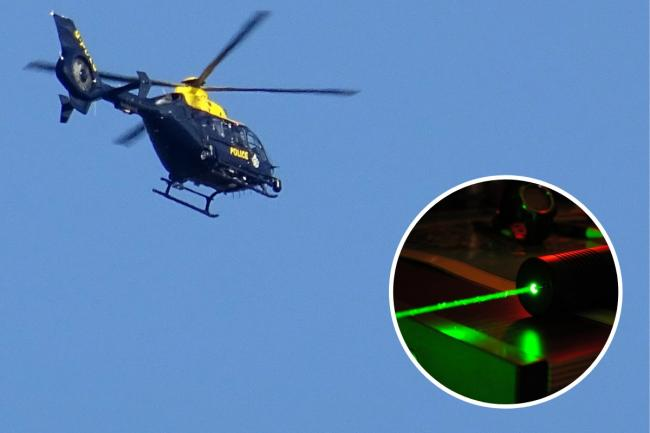 A man was arrested in connection with the incindent, which police said involved a high-powered laser 'torch'. Image detail: Andrew 'FastLizard4' Adams via Flickr