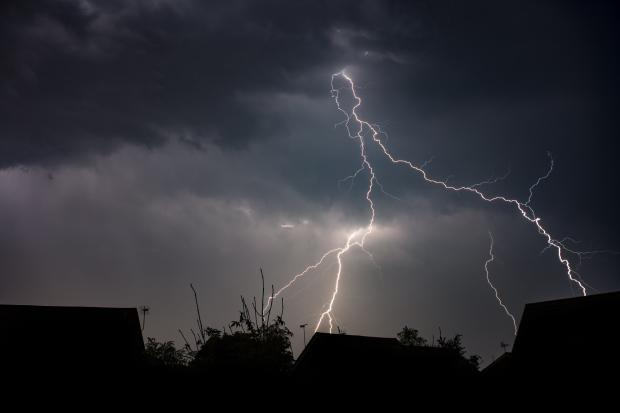 More thunder and lightning has been forecast for the UK  across the weekend. Image: Brian Tomlinson via Flickr