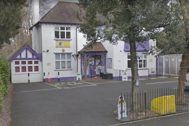 The tot was found at Little Learners Day Nursery in Croydon (Image: Google Streetview)