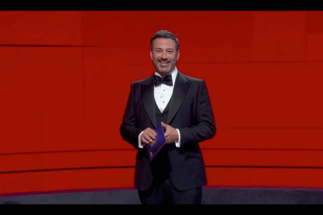 Jimmy Kimmel hosted the Emmys