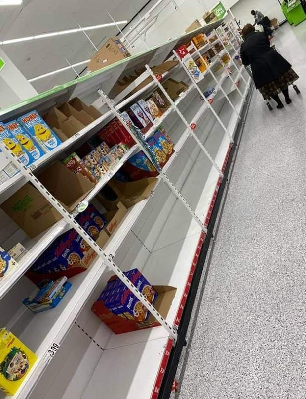 Your Local Guardian: A picture taken at ASDA in London over the weekend