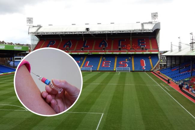 CPFC's Palace for Life charity at Selhurst Park will help provide flu vaccines this autumn and winter. Image via  wikipedia