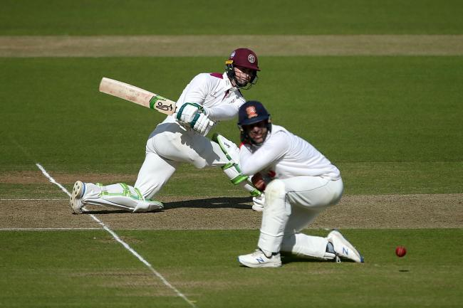 Eddie Byrom put Somerset in a strong position