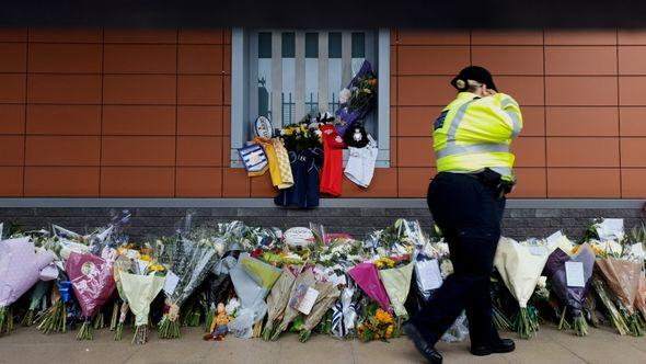 Tributes paid outside of Croydon Custody Centre