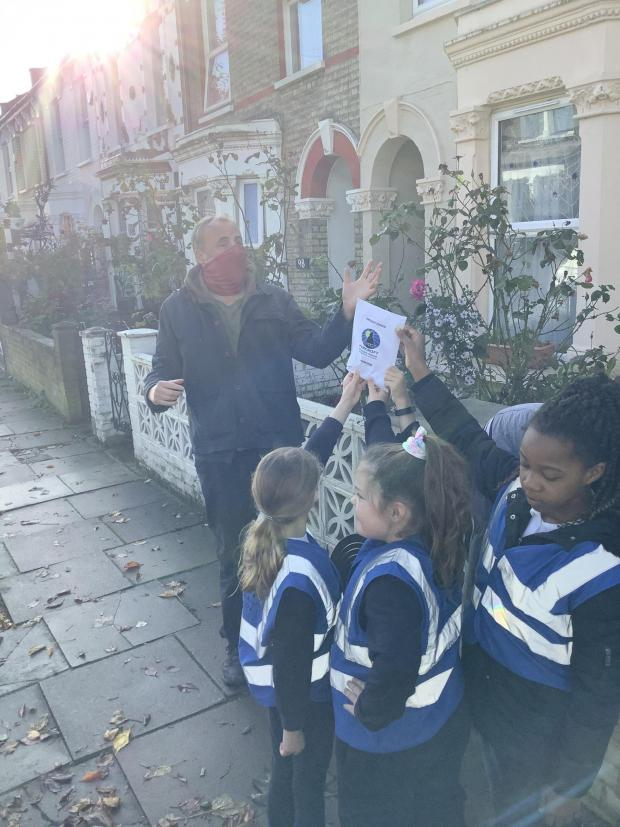 Your Local Guardian:  Fircroft pupils on Trevelyan Road