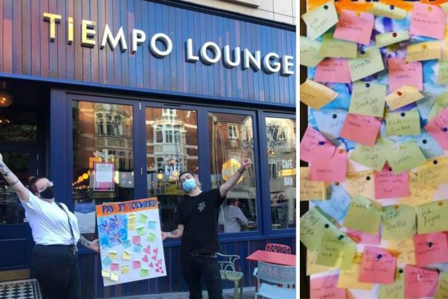 Tiempo Lounge has praised customers for stepping up to the plate this half term and beyond