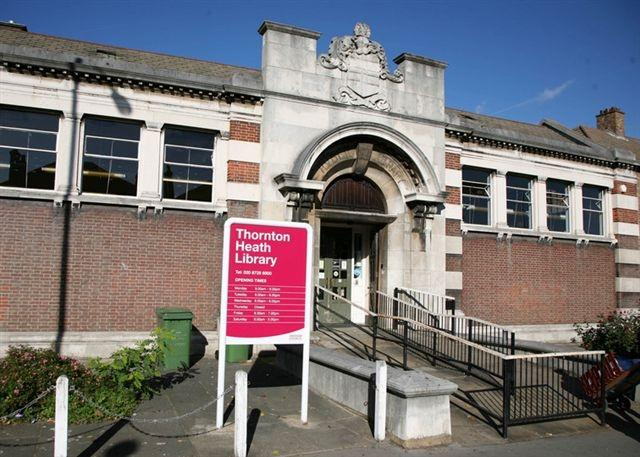 Thornton Heath library,  which will be run by John Laing