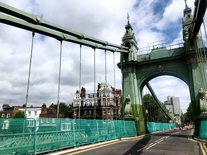 Hammersmith Bridge. Credit: Image provided by Richmond Council