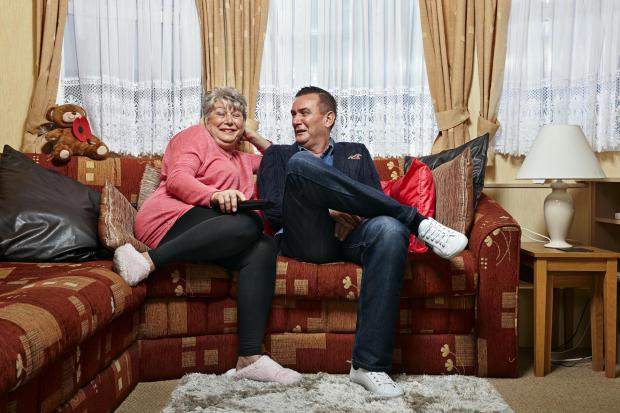 Your Local Guardian: Jenny and Lee. Picture: Channel 4