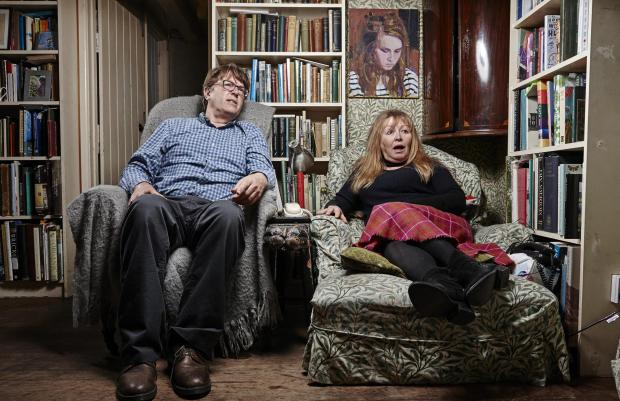Your Local Guardian: Giles and Mary. Picture: Channel 4