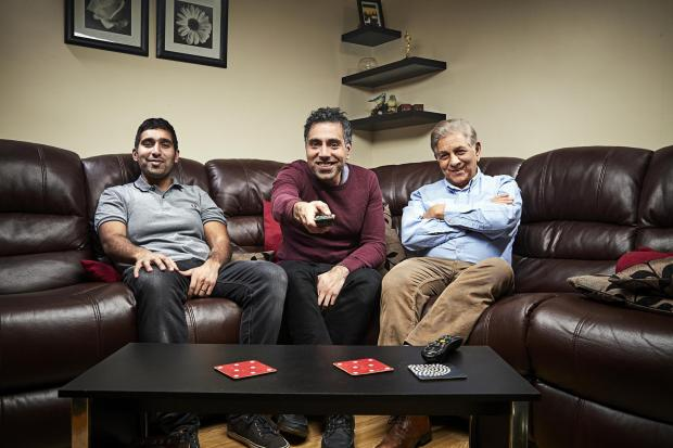 Your Local Guardian: The Siddiqui family. Picture: Channel 4