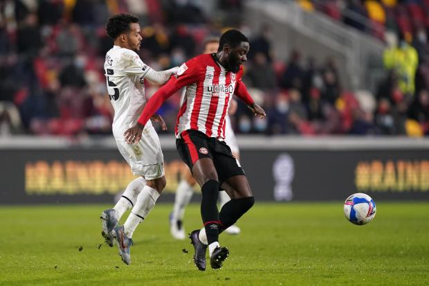 Your Local Guardian: Josh Dasilva missed the best of Brentford's chances