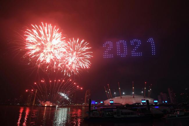 2021 London Fireworks