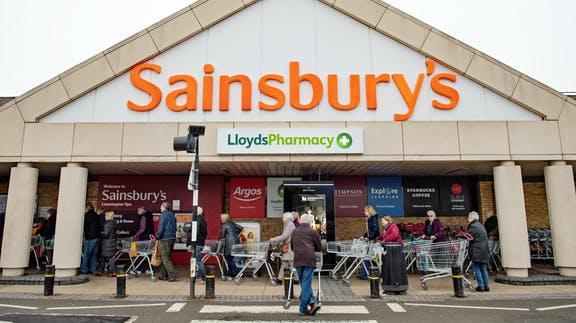 Your Local Guardian: Sainsbury's. (PA)