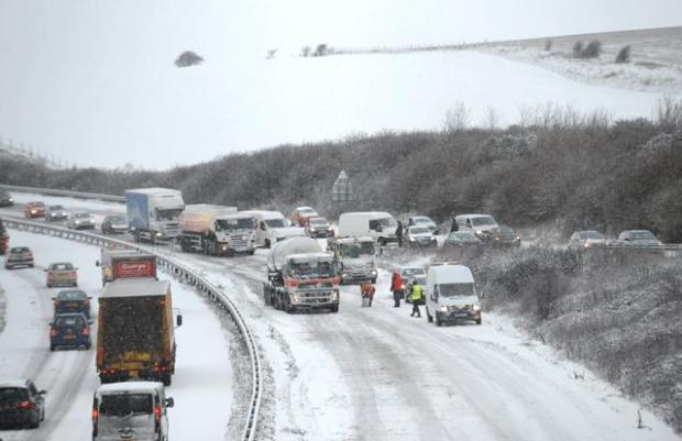 Your Local Guardian: Roads in Sussex during the snow storm of 2010