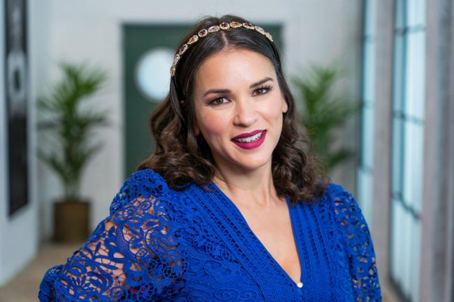 TV chef and cookbook author Rachel Khoo has joined the Great British Menu judging panel. - BBC