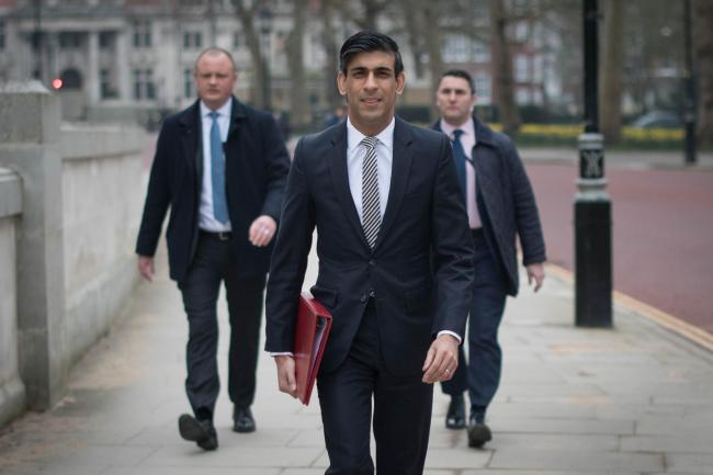 Rishi Sunak to extend furlough scheme until September. (PA)