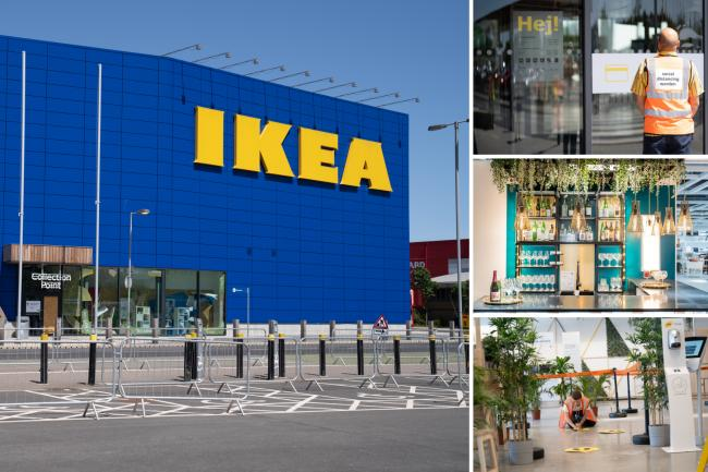 IKEA announce changes to stores ahead of reopening on April 12. (IKEA)