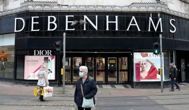 Debenhams announces 'incredible' closing down sale - full list of stores. (PA)