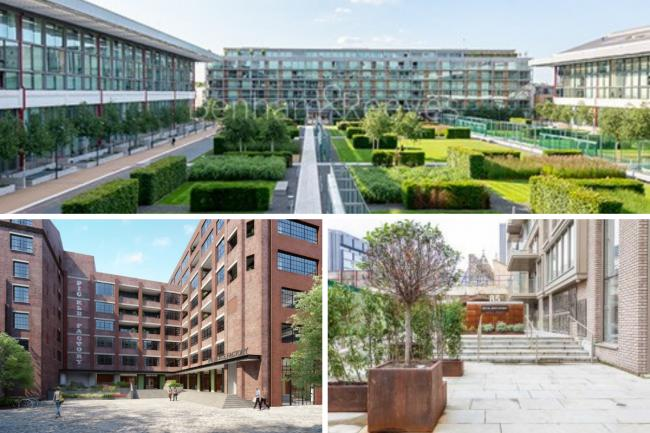 We have listed five iconic buildings that are being turned into homes - credit: London Square Bermondsey and Beenham and Reeves