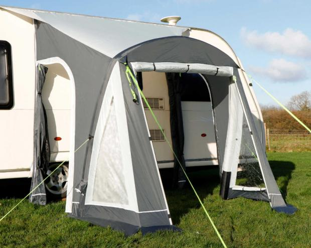 Your Local Guardian: Adventuridge Caravan Air Awning. (Aldi)