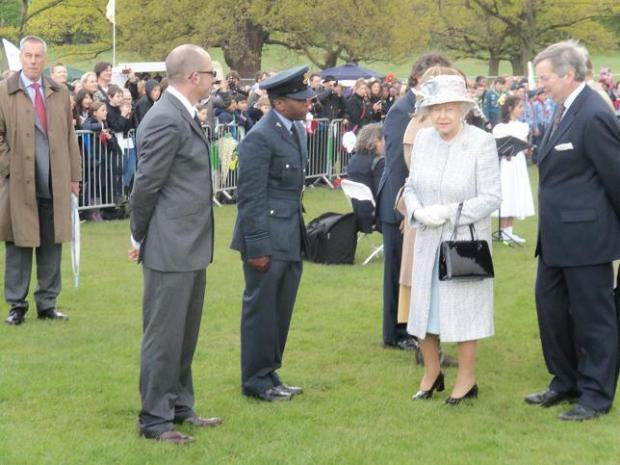 Your Local Guardian: The Queen visits Richmond Park in 2012