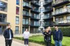Affected leaseholders living on an estate in Lambeth