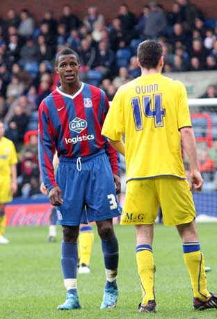 Signing on: Wilfred Zaha