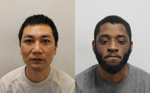 Your Local Guardian: Huang and Morgan-Findlay. Images: Met Police