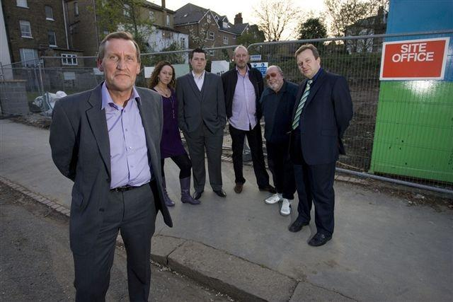Residents fuming after work begins on housing scheme