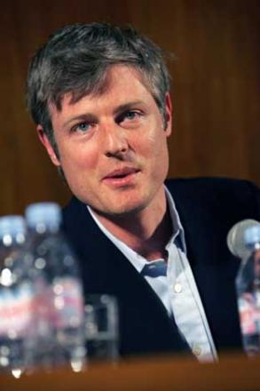 Sticking by his comments: Conservative parliamentary candidate Zac Goldsmith told a hustings he would not send his children to Shene School