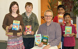 Author visits Sutton Library to celebrate Puffin Books' anniversary