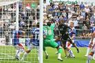 Fast start: Bees winger Myles Weston scores in last season's opening day 3-1 win at Carlisle United.