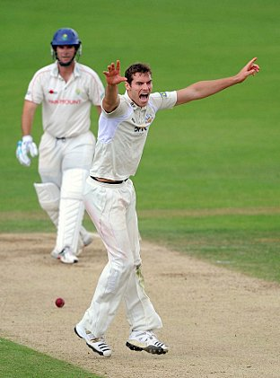 Re-think: Chris Tremlett's form for England has forced Surrey to re-think their recruitment plans.