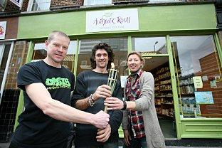 Croydon's oldest health food shop hands torch to new owners